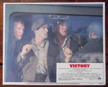 Escape to Victory, Original Lobby Card #2, Stallone, Bobby Moore, Caine, 1981